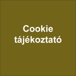 Cookie-tájékoztató